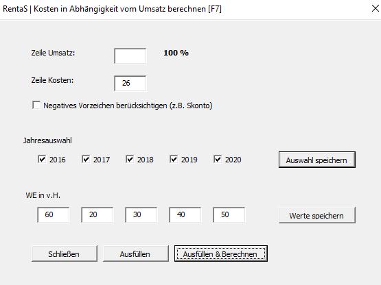 Wareneinsatz Berechnen : update rentas controllingsoftware unternehmensplanung aus essen ~ Themetempest.com Abrechnung