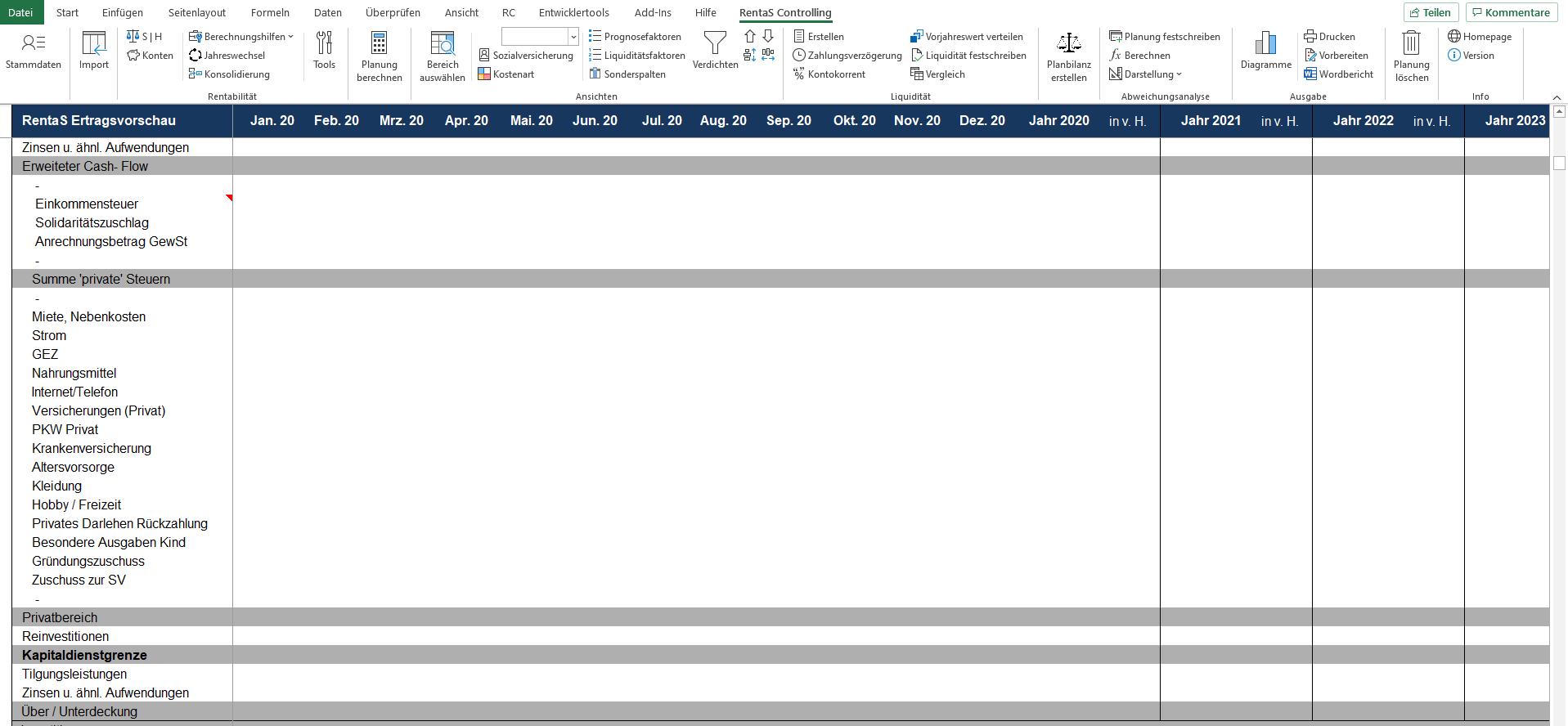 Rentabilitätsplanung_Privatbereich_RentaS_Controllingsoftware